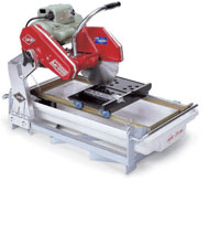 Commercial Tool Rentals NYC Brick Saw Wet